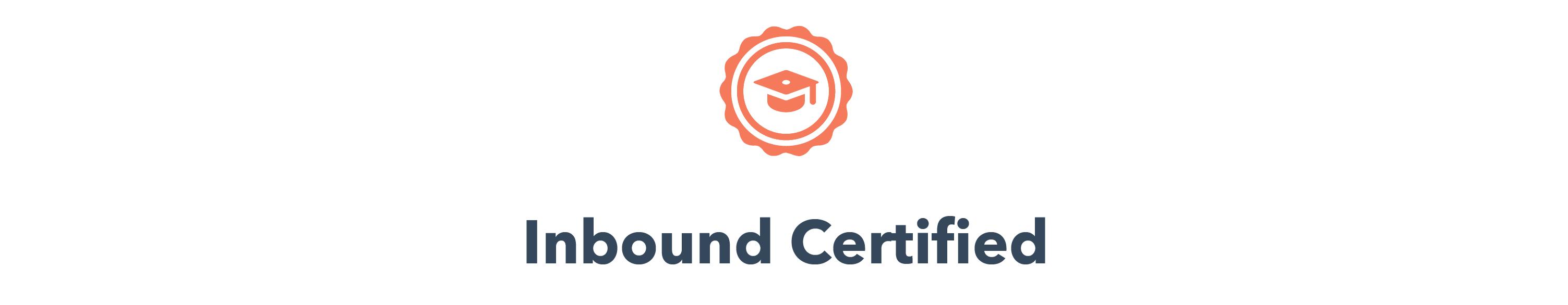 HubSpot Certifications!